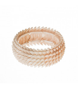 Brushed Rose Gold Bangle