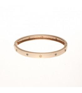 Rose Gold Solid Bracelet