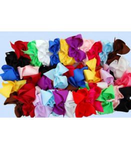 Gorgeous Girls Grosgrain Ribbon Hair Bows With Clip
