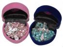Gorgeous Rosary Gift Set in Heart Shaped Velvet Box